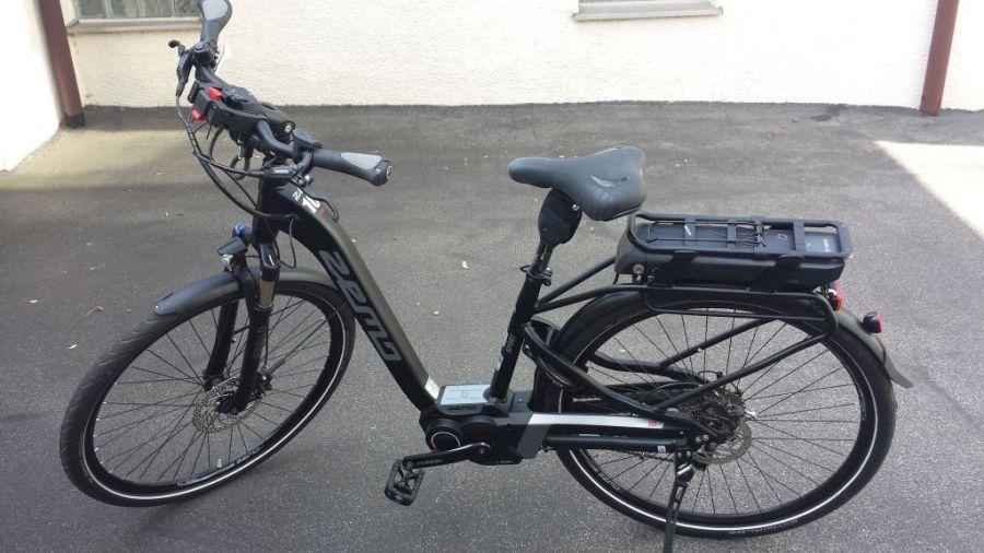 Fahrrad nackt